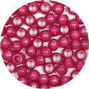 Berry Pearl 7x6mm Pony Beads 50 Pieces
