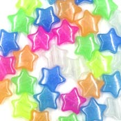 Glow In The Dark Star Pony Bead Mix 5000 Pieces