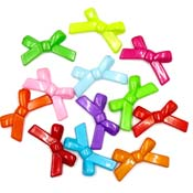 Large Bow Beads - Pick Your Color