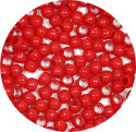 Red 7x6mm Pony Beads 50 Pieces