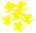 Glow In The Dark Yellow Star Pony Bead