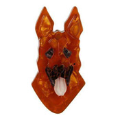 Abbey Alsatian German Shepherd Brooch By Erstwilder