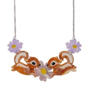 Acrobatic Aromas Chipmunk Necklace By Erstwilder