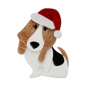 Barney's First Christmas Brooch By Erstwilder