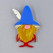 Barry The Gnome Brooch By Tantalising Treasures