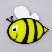 Big Bumble Bumblebee Brooch By Tantalising Treasures