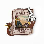 Bonnie And Clyde Brooch By Laliblue