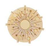 Burst Of Sun Brooch By Erstwilder
