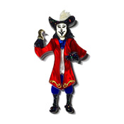 Captain Hook Brooch By Tantalising Treasures