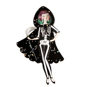 The Dead Girl Brooch By Laliblue