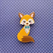 Delightful Mr Dohle Brooch Blue By She Loves Blooms