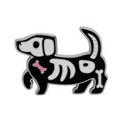 Doggo Darkness Enamel Pin By Erstwilder