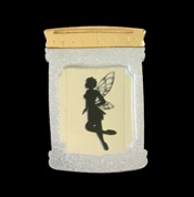 Fairy In A Jar Brooch By Tantalising Treasures