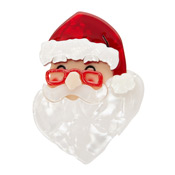 Father Christmas Santa Brooch By Erstwilder