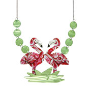 Flamboyant Flamingo Fair Necklace By Erstwilder