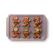Freshly Baked Gingerbread Brooch By Martinis & Slippers