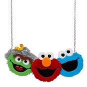 Friendly Neighbors Sesame Street Necklace By Erstwilder