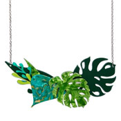 Fronds Of Fancy Necklace Large By Erstwilder