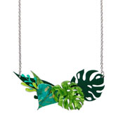 Fronds Of Fancy Necklace Small By Erstwilder