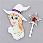Glinda The Good Witch Brooch Set By Tantalising Treasures