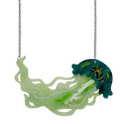 Slippin Under Jellyfish Necklace By Erstwilder Fan Favorite