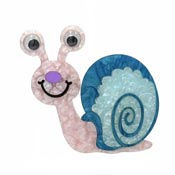 Gus The Crazy Eyed Snail Brooch By Tantalising Treasures