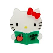 Hello Kitty Lesson One Brooch By Erstwilder - Imperfect