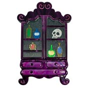 High Shelf Boos Apothecary Cabinet Brooch By Lipstick & Chrome - Imperfect