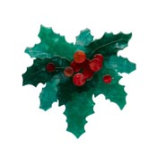 Holly Jolly Brooch By Erstwilder
