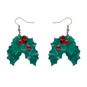Holly Jolly Earrings By Erstwilder - SOLD OUT