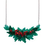 Holly Jolly Necklace By Erstwilder