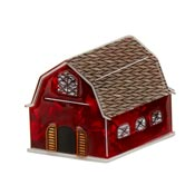 House Of Hootenanny Barn Brooch By Erstwilder