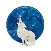 Howling At The Moon Brooch By Erstwilder Fan Favorite