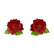 Juliet's Blooms Rose Earrings By Erstwilder