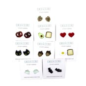 Itty Bitty Earrings By Kimchi And Coconut Pick Your Style