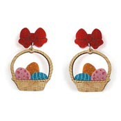 Easter Basket Earrings By Laliblue