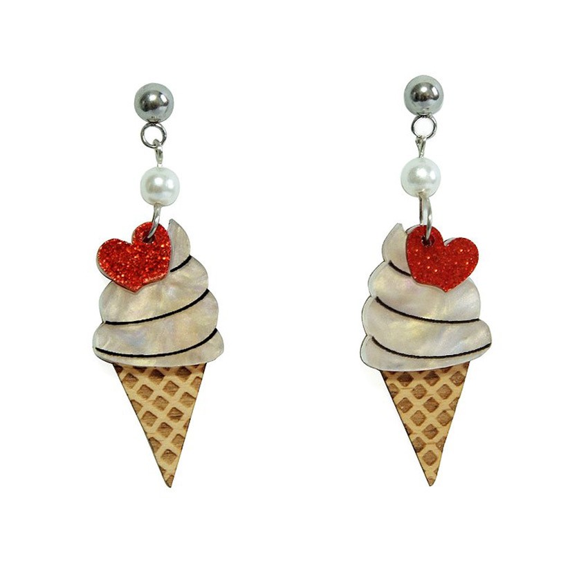 Ice Cream Earrings By Laliblue