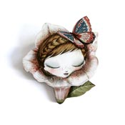 Petunia Brooch By Laliblue - Coming Soon!
