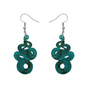 Le Serpent Snake Earrings By Erstwilder