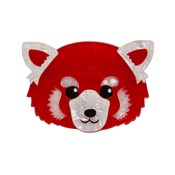 Lesser Rusty Red Panda Brooch By Erstwilder - Imperfect