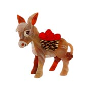 Marvellous Murray Donkey Brooch By Erstwilder