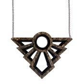 Modernist Motif Necklace By Erstwilder