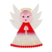Nanna's Little Angel Brooch By Erstwilder