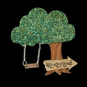 Neverland This Way Brooch By Tantalising Treasures