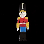 Nicholas The Nutcracker Brooch By Tantalising Treasures
