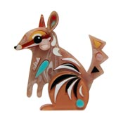 The Notorious Numbat Brooch By Erstwilder X Pete Cromer - Last one!