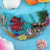 Octopus Gardening Necklace By Gory Dorky