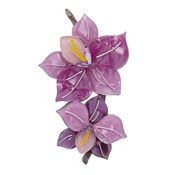 Opulent Orchidae Orchid Brooch By Erstwilder