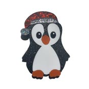 Percy The Penguin Pin By Tantalising Treasures
