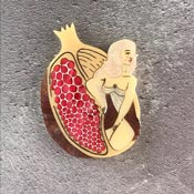 Persephone Brooch By Kimchi And Coconut